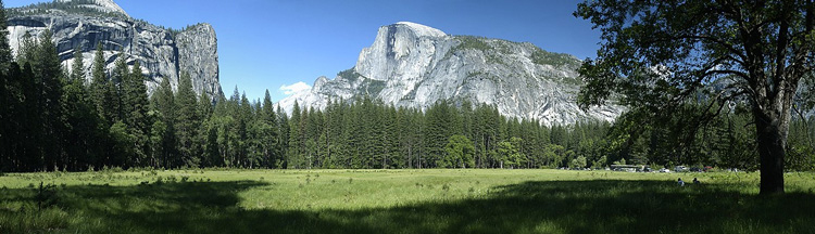 Yosemite Valley with Half Dome